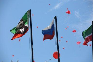"""Республиканская эстафета """"Знамя Победы"""""""