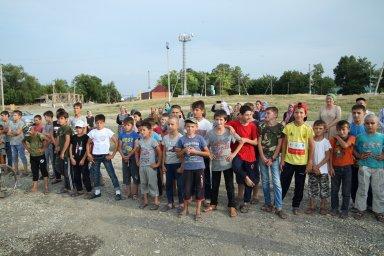 Открытие площадки по воркауту в селе Коби